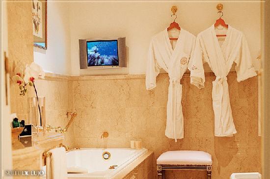 Alvear Palace Hotel: Baño de la Suite