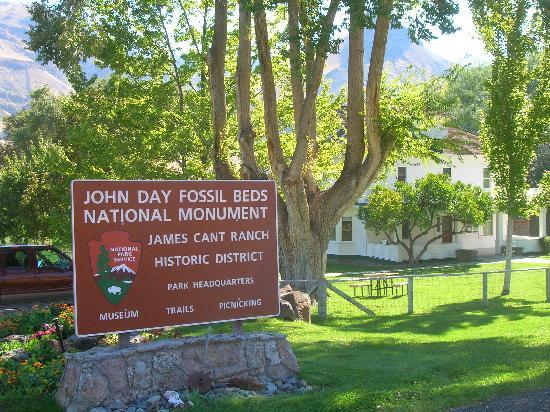 Fish House Inn and RV Park: Cant Ranch John Day Fossil Beds National Park