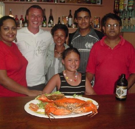 Coastal Inland Restaurant & Bar: Shephard & Family @ Outback Fiji