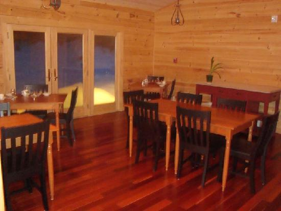 Carrabassett Valley, ME: Dinning Area