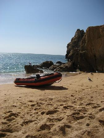 Vilamoura, Portugal: private beach