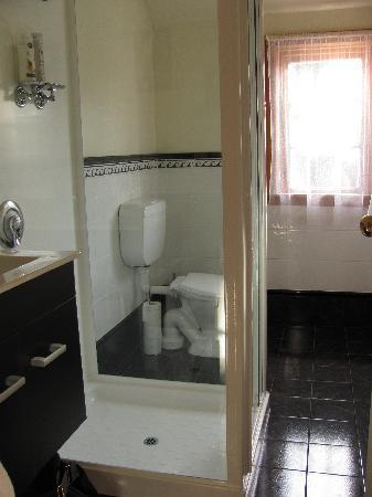 Nikau Lodge: Tidy and modern ensuite bathroom