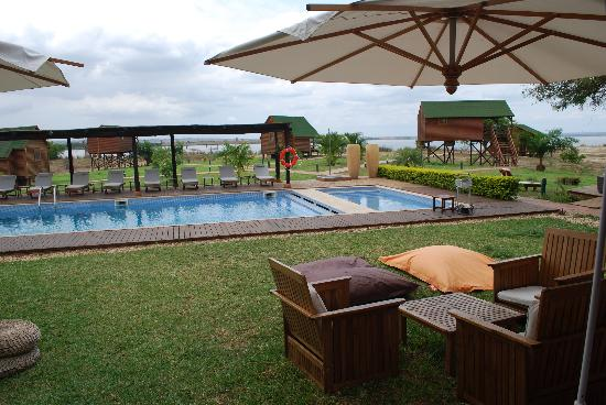 Mubanga Lodge: piscina