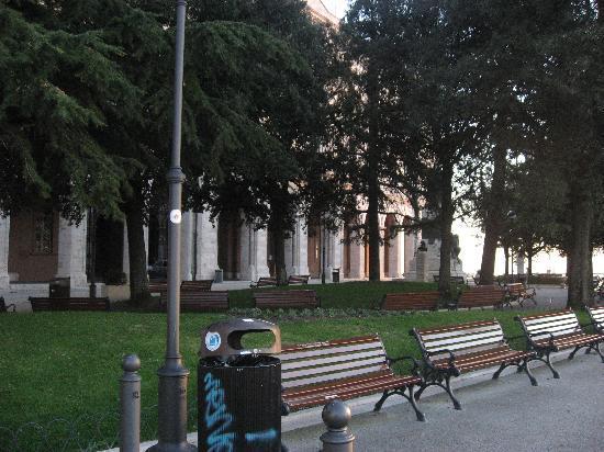 Perugia, Italy: piazza italia