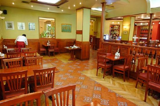 Cafe Central: Friendly staff and a relaxed atmosphere