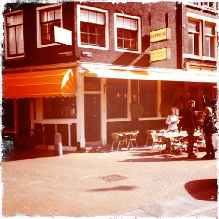 Trattoria Caprese Amsterdam : view from the street