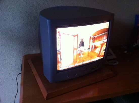 Hotel Thermae 2OOO : Is this a TV in a 4 star hotelroom??