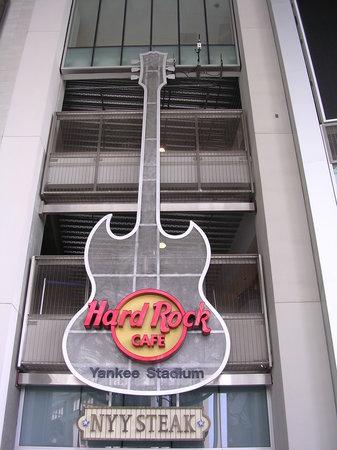 Hard Rock Cafe Yankee Stadium Bronx Menu Prices