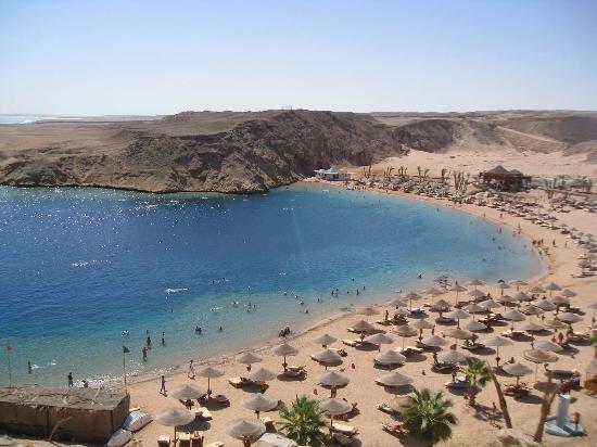 Al Nabila Grand Bay Makadi: beach. top view