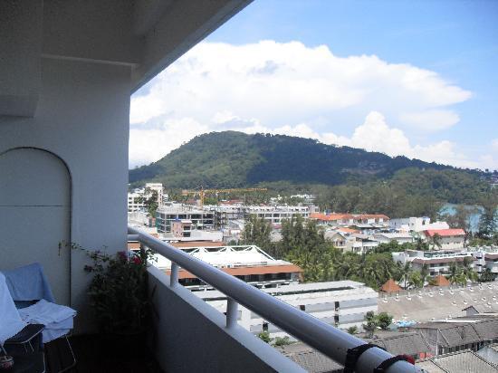 Patong Tower Holiday Rentals: Vue du Balcon