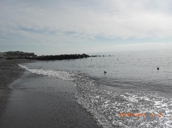 Ostria Resort & Spa : la plage de l'hotel