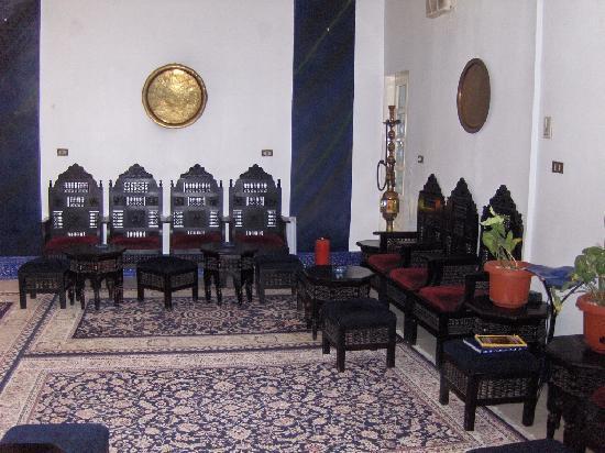 Mara House: hotel reception room