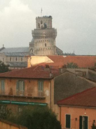 Hotel Di Stefano : Zoom view of the tower from the hotel terrace