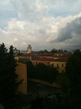 Hotel Di Stefano : view from terrace (tower in distance)