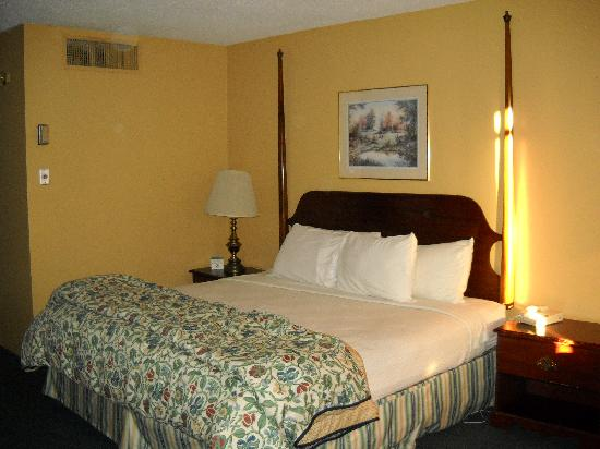The Springs Hotel & Spa: King size bed