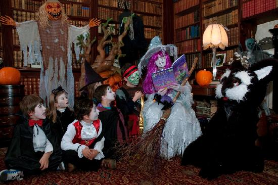 Story Time with the White Witch daily in the Library at Westport House