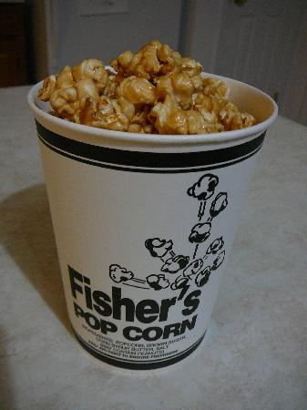 Fisher's Popcorn: Fisher's Small Caramel Corn