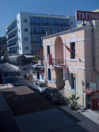 Atlantis City Hotel : Balcony view