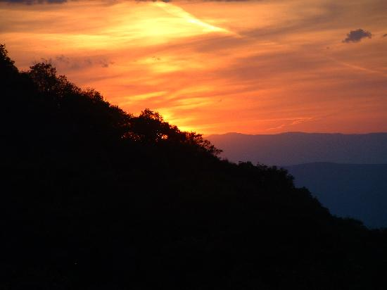 Sunset View From Lodge Picture Of Skyland Shenandoah