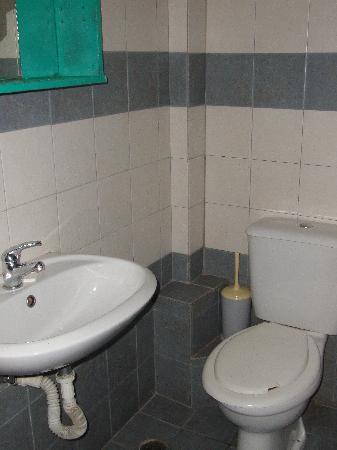 Zenith Hotel : La foto mosta poco, il piccolo specchi verde che si vede in alto a sinista aveva una sola piccol