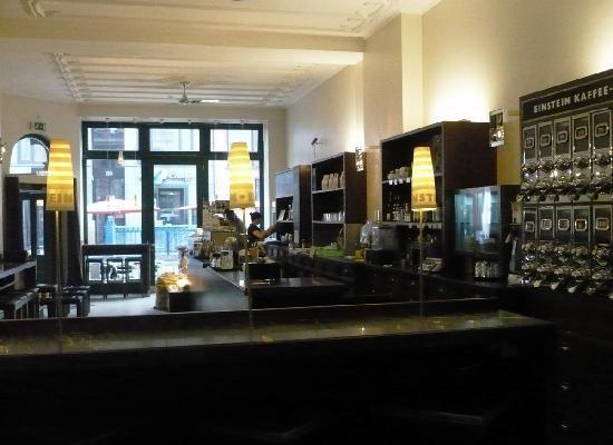 Cafe Einstein: Interno del caffè