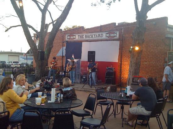 BIG BARN BAR-B-QUE: Beautiful Nights Under the Stars of Texas!