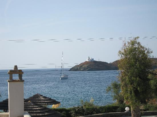 Korissia, Grecia: view from my room