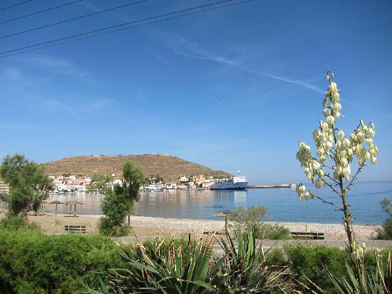The Porto Kea Suites Hotel: port in Kea Greece