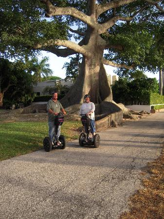 Уэст-Палм-Бич, Флорида: West  Palm Beach Segway Tour