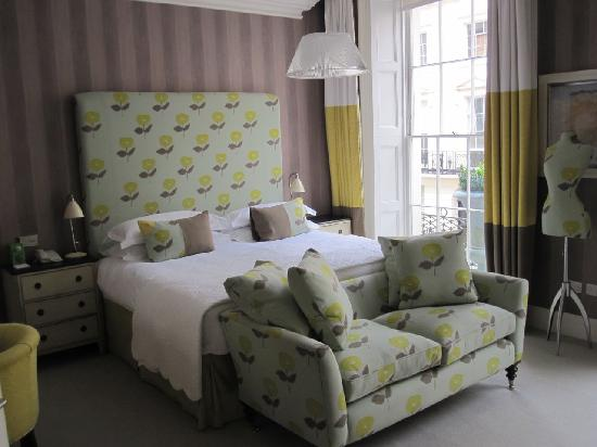 Haymarket Hotel: Our room