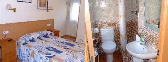 Hostal Rio de Castro: Habitacion doble