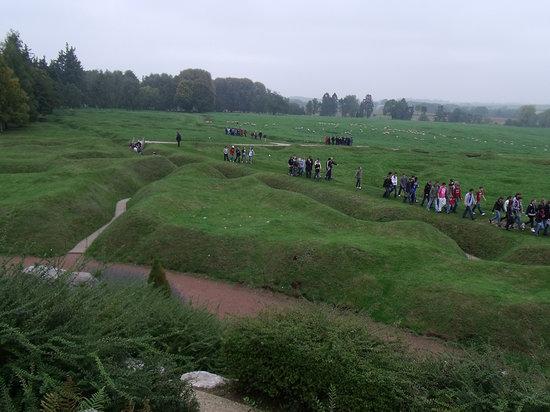 Paris Trip Tours : Beau Hamel view of trenches