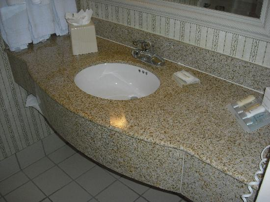 Hilton Garden Inn Cincinnati Northeast: Bathroom sink