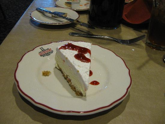 dessert on Showboat Branson Belle