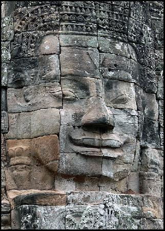 Siem Reap, Cambodia: Bayon Temple