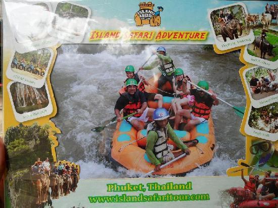 Phuket Town, Thailand: White Water Rafting