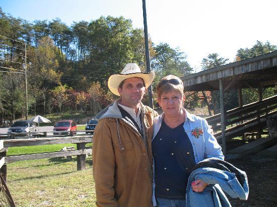 Walden Creek Horseback Riding Stables: Great guide, made it enjoyable.