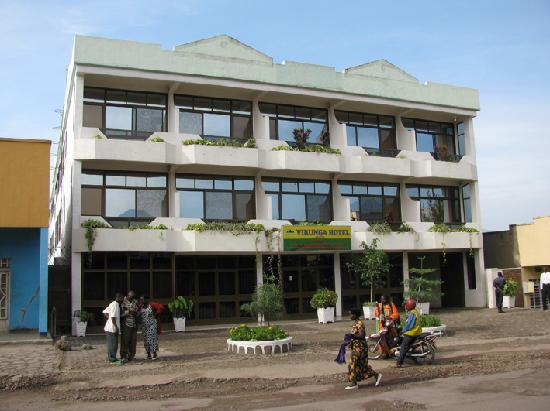 Virunga Hotel: View of facade