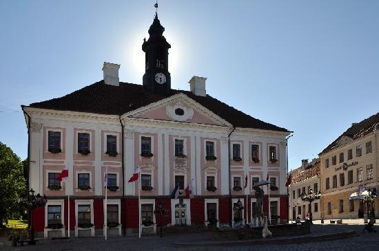 Tartu, Estonia: The city hall