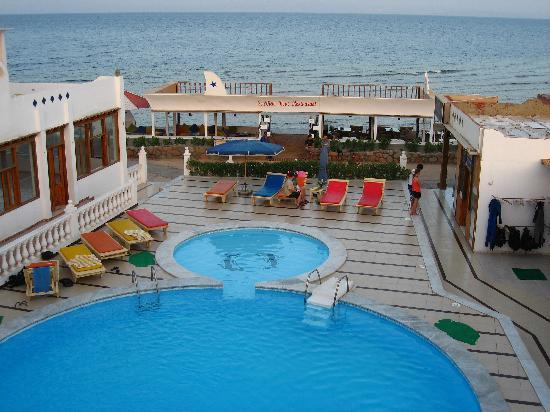Seaview Hotel Dahab: view from the roof