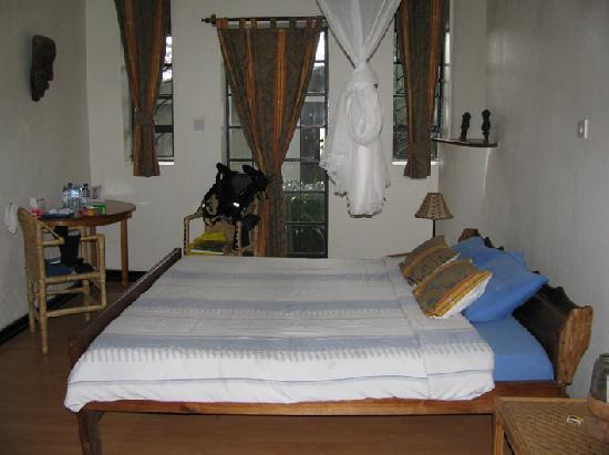 Kisoro, Uganda: bedroom