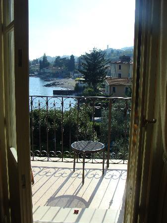 Hotel Gardenia al Lago: View from our room