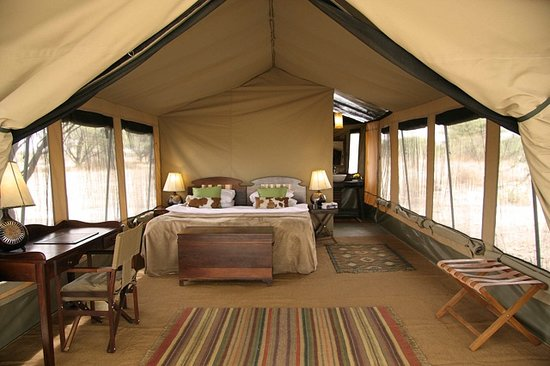 Manyara Ranch Conservancy: Guest Tent Interior