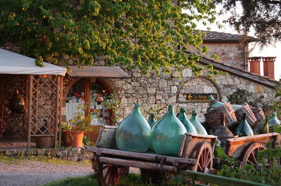 Castelnuovo Berardenga, Italia: entrance