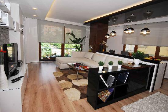 Aura Suites: Living area