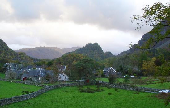 The Borrowdale Gates Hotel: view from room
