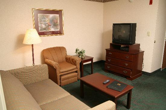 BEST WESTERN Executive Suites - Columbus East: Living Area