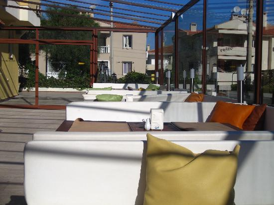 Albano Hotel : courtyard