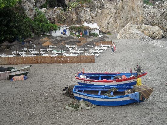Hotel Puerta del Mar: Toujours la plage.. Nerja