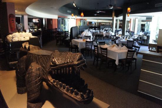 Lemon Tree Inn : Crocodile